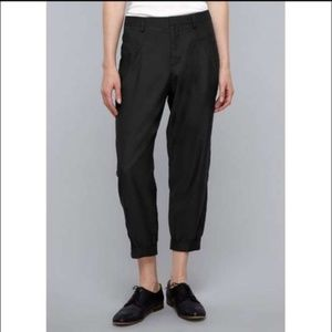 Vince bemberg cotton blend  crop slouch  pants